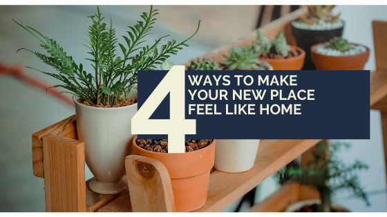 4 ways to make your new home